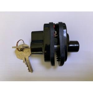 Trigger lock with key