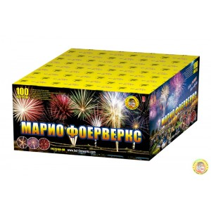 Pyrotechnic cakes TFC25100-4