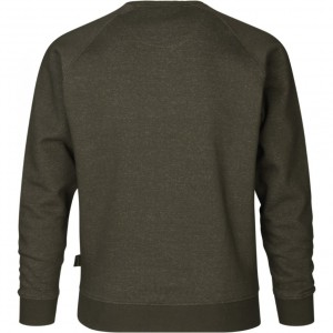 Seeland Key Point Sweatshirt, Pine green melange