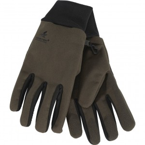Seeland Climate gloves in pine green