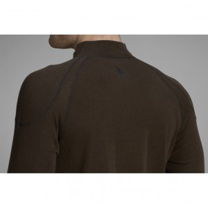 Seeland Climate base layer in clay brown