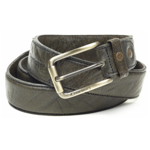 Courteney Belt in olive buffalo leather