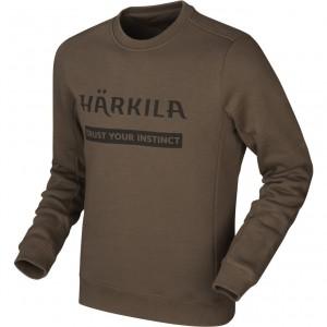Harkila Sweatshirt, Slate brown